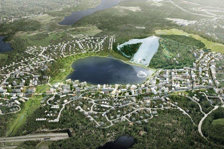 Planerna för Väsjön - Sollentuna