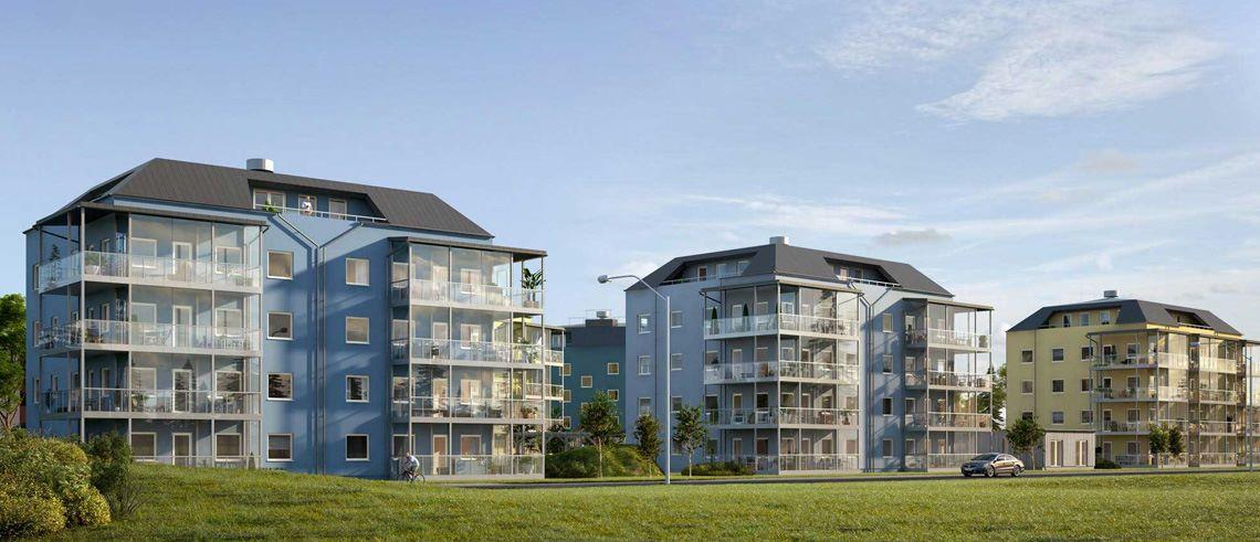 Ny återbetalning: Byggstartade bostäder i centrala Skellefteå