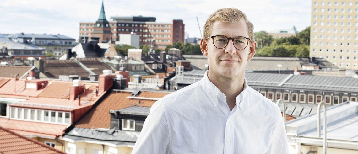 """Fastighetsprofilen Christoffer Börjesson: """"Det intressanta med digitaliseringen är det som händer med vårt mänskliga beteende"""""""