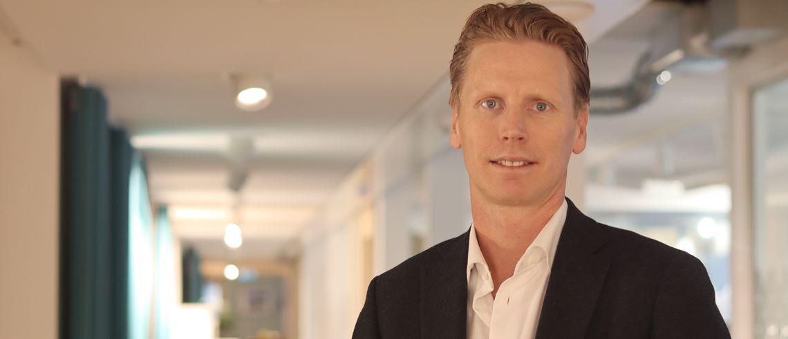 """Fastighetsprofilen Niklas Granström: """"Det går inte att sitta på sidan och titta på"""""""