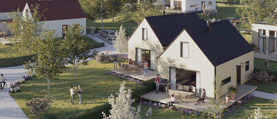 Tessin besöker Ljusterö Skärgårdsby