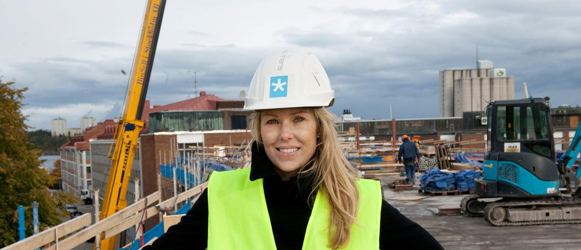 """Fastighetsprofilen Jessica Löfström: """"Blir jag frälst på en idé kan jag gå över berg"""""""