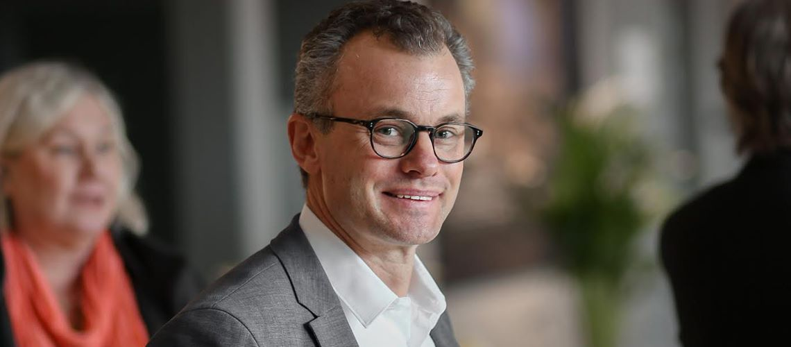 """Fastighetsprofilen Joel Ambré: """"Här kan vi som fastighetsägare vara med och utveckla koncept och skapa nya innovationer"""""""
