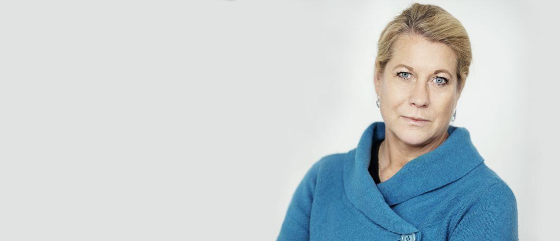 """Fastighetsprofilen Catharina Elmsäter-Svärd: """"Vår utmaning inom byggsektorn är hur vi kan vara en attraktiv, sund och säker bransch"""""""