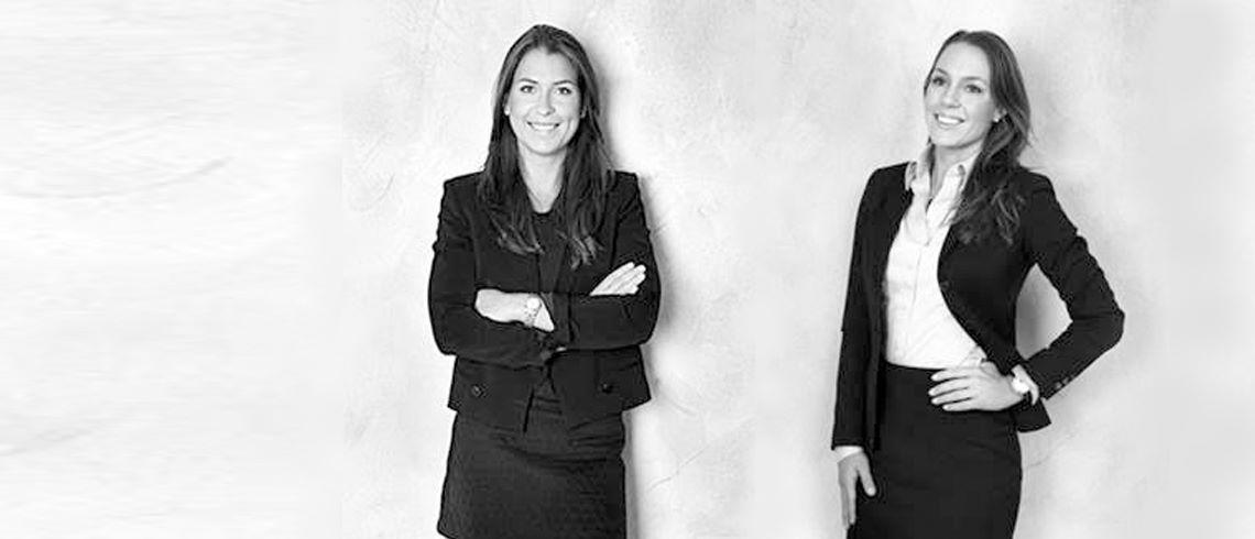 """Fastighetsprofilerna Ellen Sederholm och Jessica Schwieler: """"Vi har lyckats med att ha is i magen"""""""