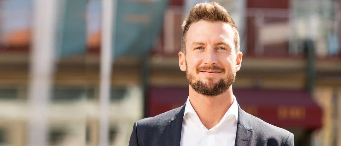"""Fastighetsprofilen Jacob Karlsson: """"Vi ska bli Nordens största konceptuella bostadsutvecklare"""""""